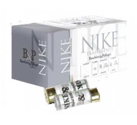 Pack 100 Cartouches B&P Nike Trasparente 32gr 12/70