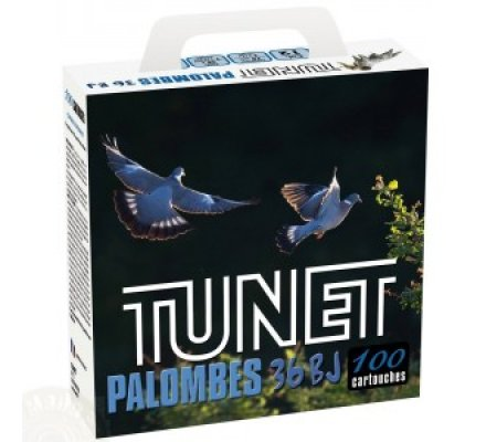 Pack 100 cartouches Tunet palombes 36 BJ cal 12