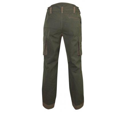 Pantalon de chasse Geai bicolore kaki/marron LMA