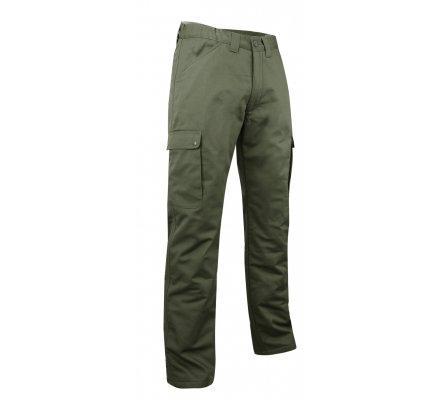 Pantalon de chasse kaki doublé polaire Ours