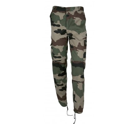 Pantalon Treillis Camouflage Percussion