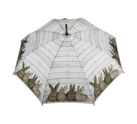 Parapluie lapins bruns