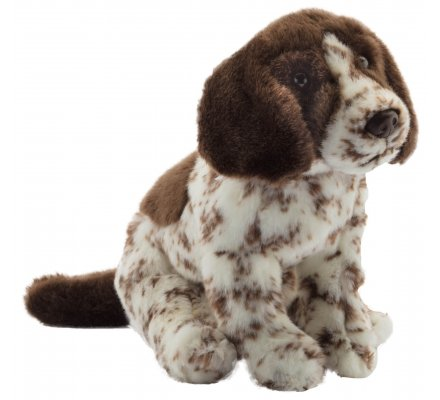 Peluche Pointer assis