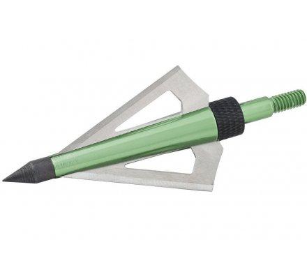 Pointes à lame vertes pour flèche 125 grains Mossy Oak