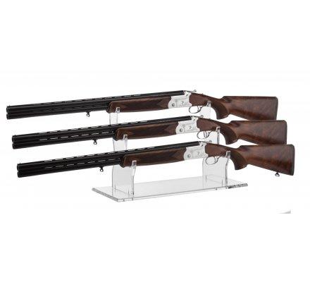 Porte 3 fusils en plexiglass