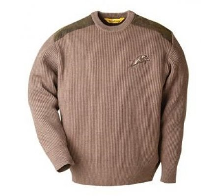 Pull chasse broderie sanglier Fox Pull Verney Carron