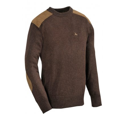 Pull chasse Fox Rond Marron Verney Carron
