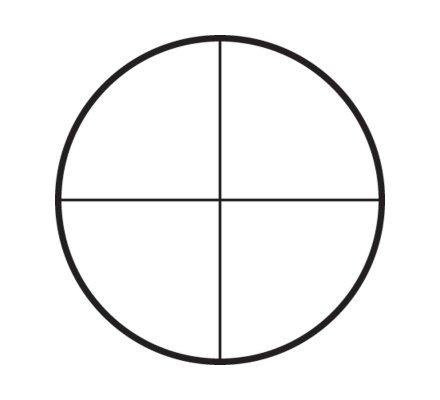 Lunette de tir Tasco Target 6-24X44 - Réticule Croix