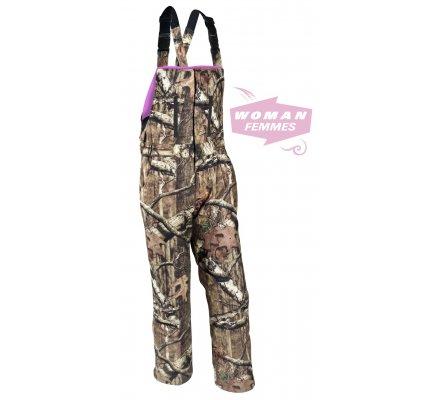 Salopette femme camouflage Mossy Oak Pink