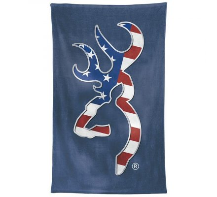 Serviette de plage drapeau USA Browning