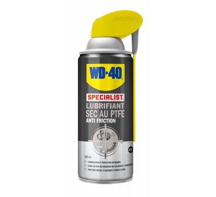 Spray lubrifiant sec