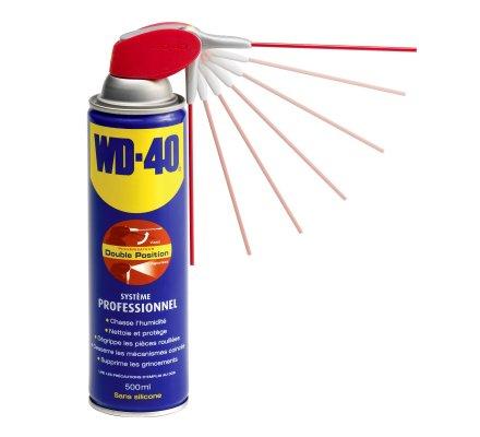 Spray nettoyant avec tête pro 2 jets