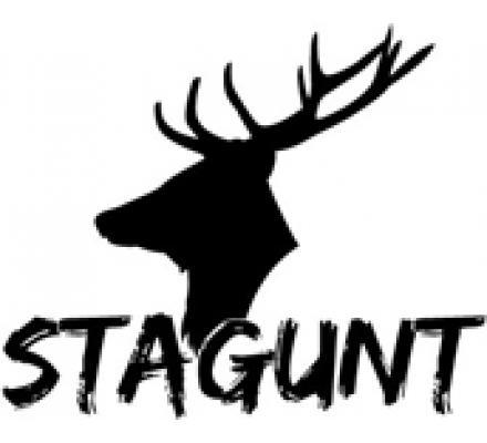 Blouson de chasse bicolore marron camo Stagunt