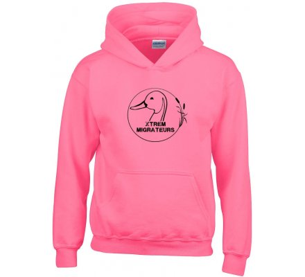 Sweat enfant Xtrem Migrateurs rose