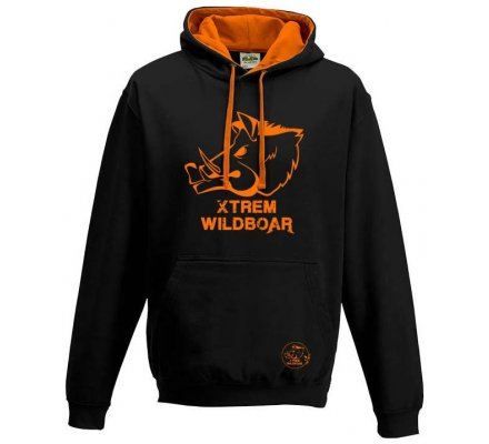 Sweat Xtrem Wildboar bi-color noir orange fluo