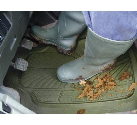 Tapis de protection kaki sanglier