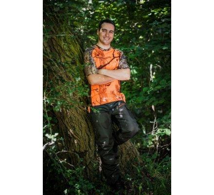 Tee-shirt camouflage orange 3DX SOMLYS