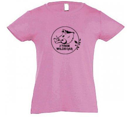 Tee-shirt femme rose XTREM WILDBOAR