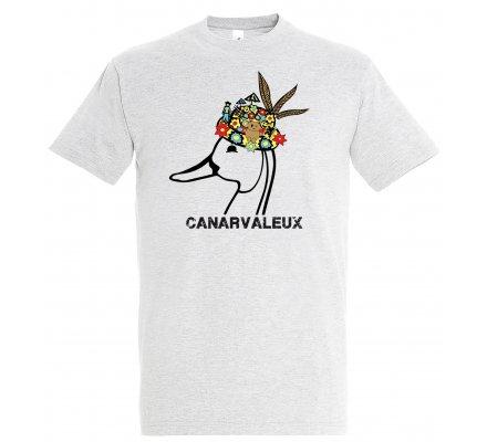 Tee-shirt gris CANARVALEUX