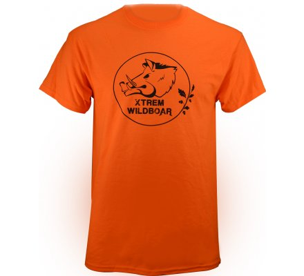 Tee-shirt Xtrem Wildboar orange fluo
