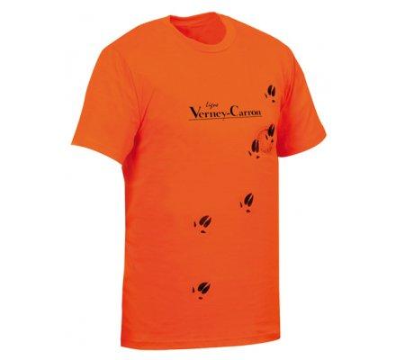 Tee-shirt traces de pattes Verney Carron