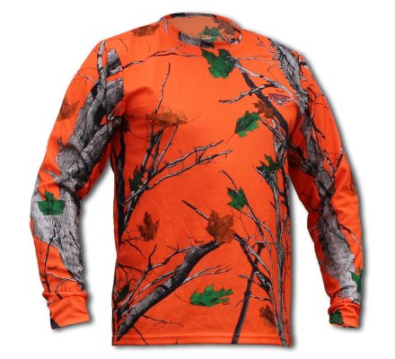 Tee-shirt manches longues Freedom camo orange Blaze SPORTCHIEF