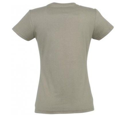 Tee-shirt chasse femme kaki