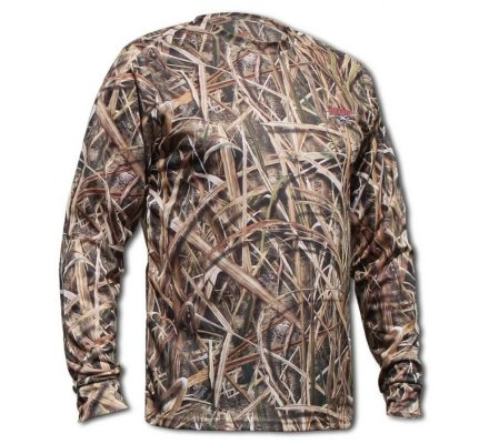 Tee shirt manches longues camo roseaux Shadow Grass Blades Sportchief