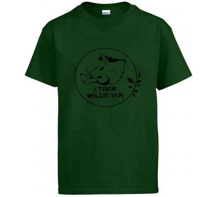 Tee-shirt enfant Xtrem Wildboar kaki