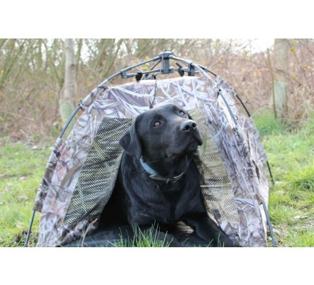 Tente en toile camo pour chiens