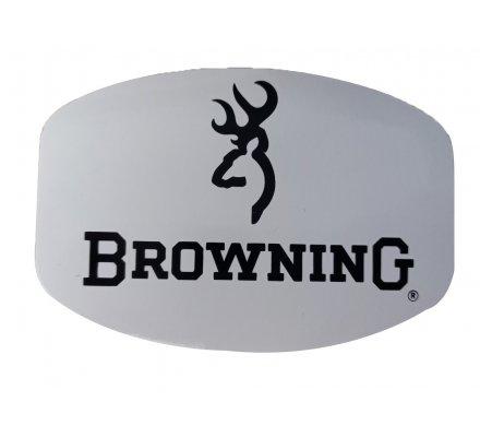 Autocollant Browning noir et blanc