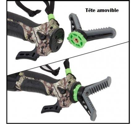 Tripod Primos Trigger Stick™ hauteur de 46 à 97,5 cm