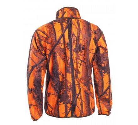 Veste de chasse polaire réversible kaki / camouflage Blaze Gamekeeper réversible Deerhunter