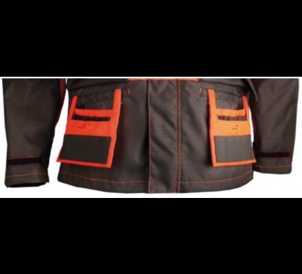 Veste de Traque orange Made in Traque SOMLYS