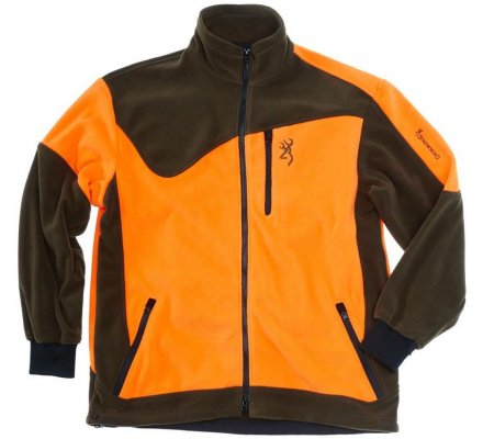 Veste polaire Browning Powerfleece One Vert/Orange