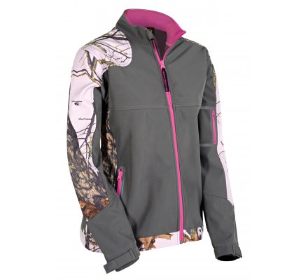 Veste Softshell femme Casual Mossy Oak Break Up Country Pink