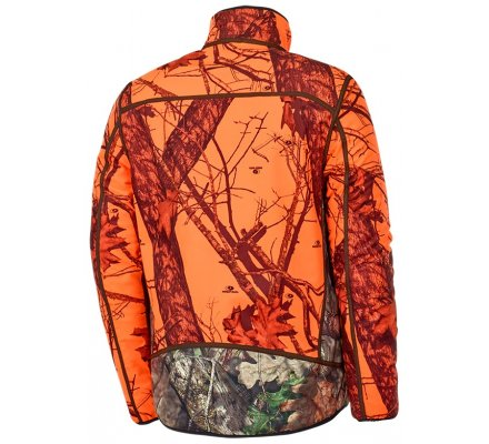 Veste camouflage réversible orange Fox STAGUNT