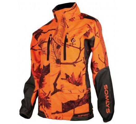 Veste de traque femme orange fluo Spirit SOMLYS