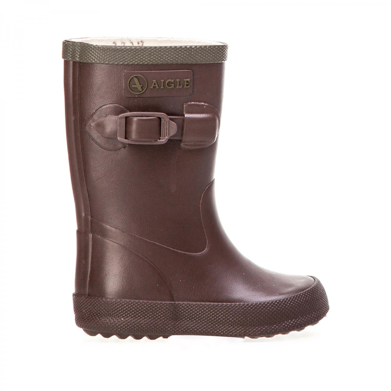 Achat vente bottes enfant perdrix kaki ou brun de la marque aigle pas cher 2218 - Bottes caoutchouc aigle ...