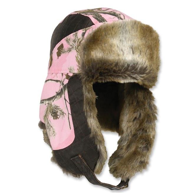 achat vente de la chapka femme realtree pink ap marron pas chere 3472. Black Bedroom Furniture Sets. Home Design Ideas