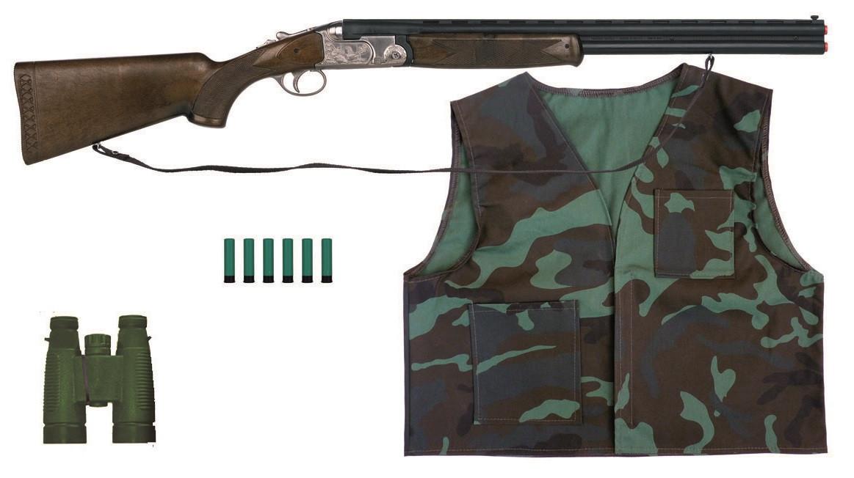 achat vente coffret fusil et accessoires de chasse hunter pour enfant pas cher 5800. Black Bedroom Furniture Sets. Home Design Ideas