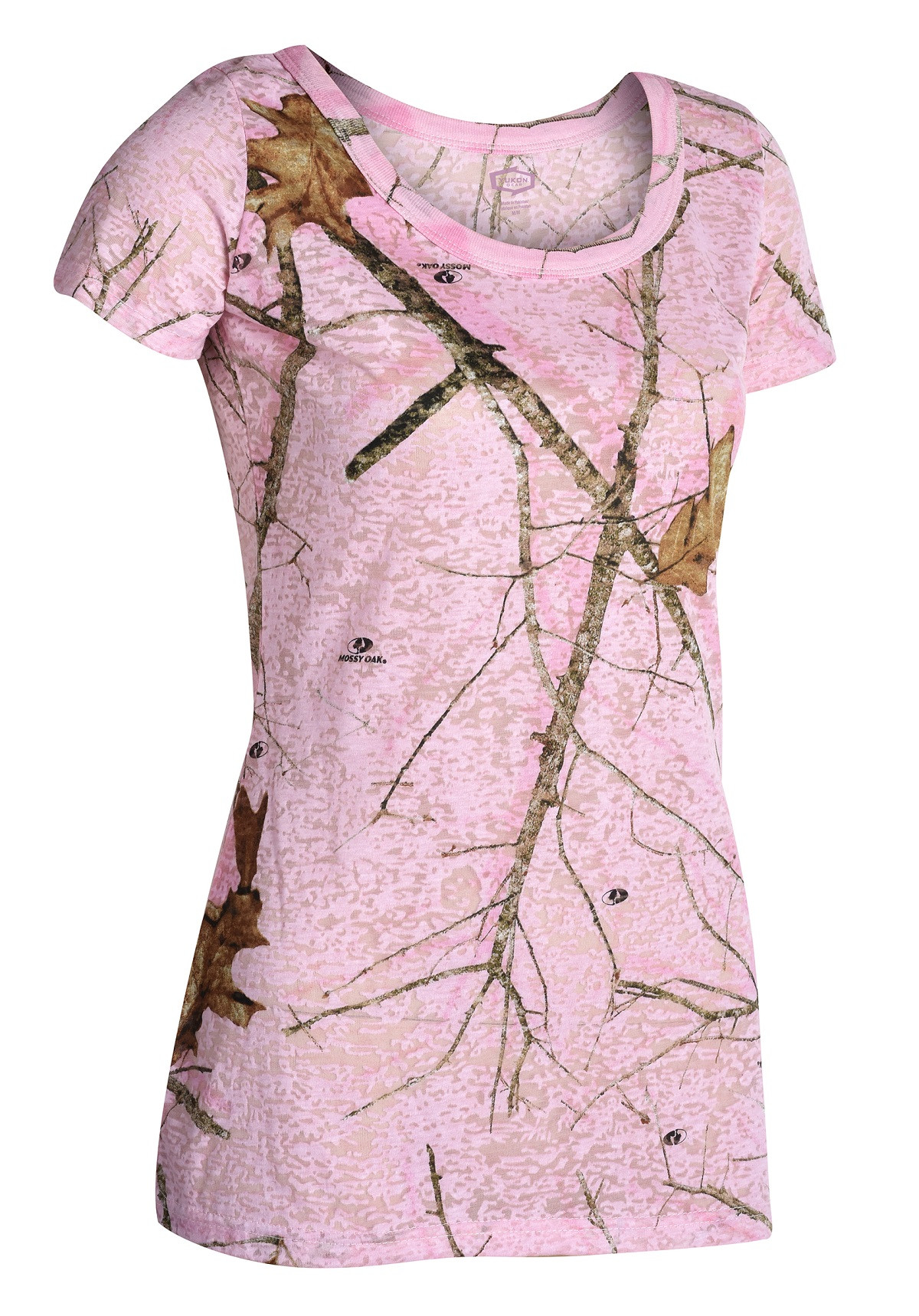 achat vente tee shirt femme mossy oak pink pas cher 1742. Black Bedroom Furniture Sets. Home Design Ideas