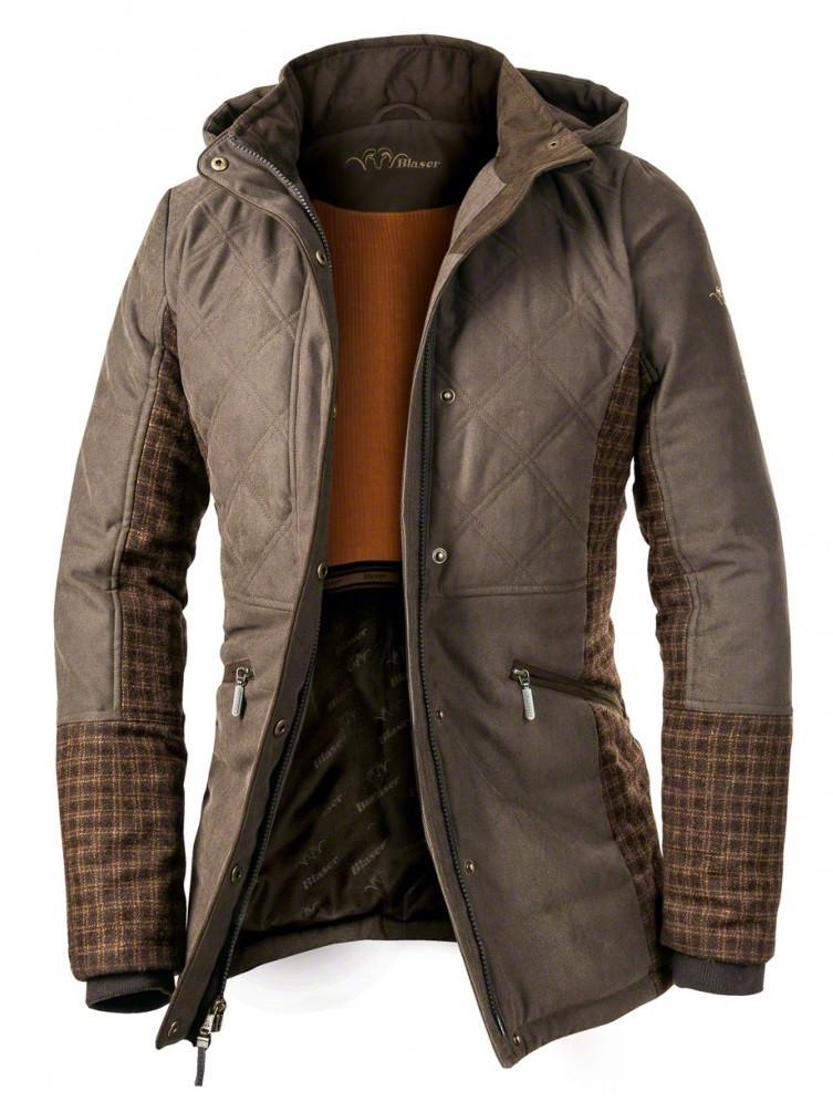 achat vente veste de chasse femme bi mati re laine carreaux blaser en ligne 5496. Black Bedroom Furniture Sets. Home Design Ideas
