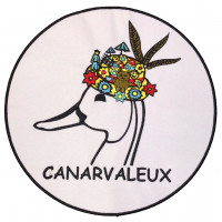 Écusson brodé Le Canarvaleux 25cm