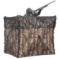 Hutteau camouflage bois ouverture rapide
