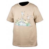Tee-shirt humoristique chasse à la hutte SOMLYS
