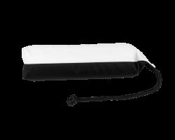 Apportable noir et blanc 25 cm pour chien