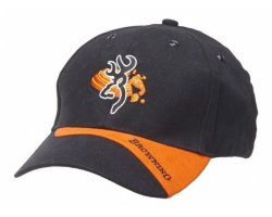 casquette browning claaybuster noire/orange