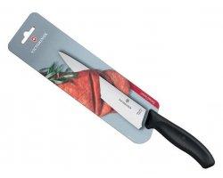 Couteau de cuisine swissclassic 19 cm noir VICTORINOX