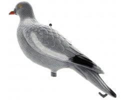 Appelant pigeon floqué sans pattes